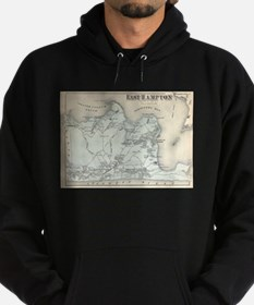Vintage Map of East Hampton New York (1 Sweatshirt