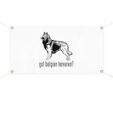 Belgian Tervuren Banner