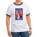 Obey the Cavalier King Charles Spaniel Ringer T