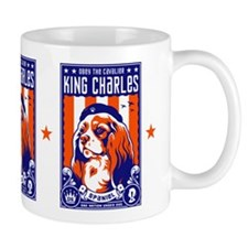 Obey the Cavalier King Charles Spaniel! Small Mug