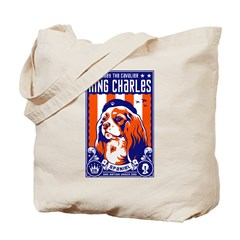 Obey the Cavalier King Charles! Tote Bag