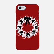 skull-wreath-bow1_j.png iPhone 7 Tough Case