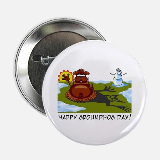Groundhog Day Button