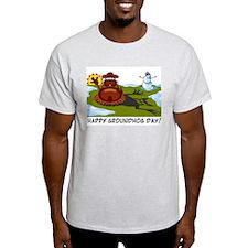 Groundhog Day Ash Grey T-Shirt