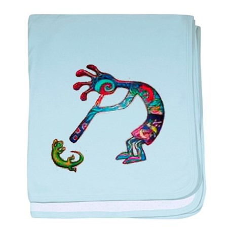 Kokopelli Infant Blanket