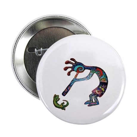 "Kokopelli 2.25"" Button (100 pack)"