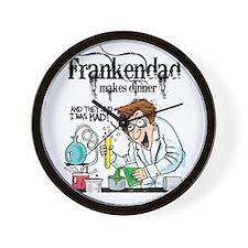 """FrankenDad"" Wall Clock"