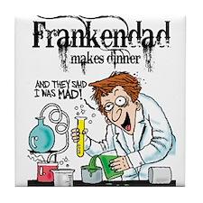 """""""FrankenDad"""" Tile Coaster"""