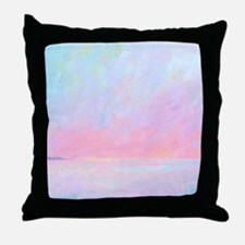 Sunup Over Kailua Throw Pillow