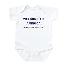 Speak English Infant Creeper