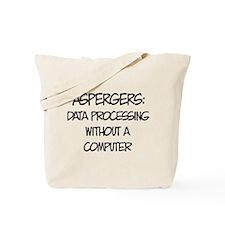 Aspergers Geek Tote Bag