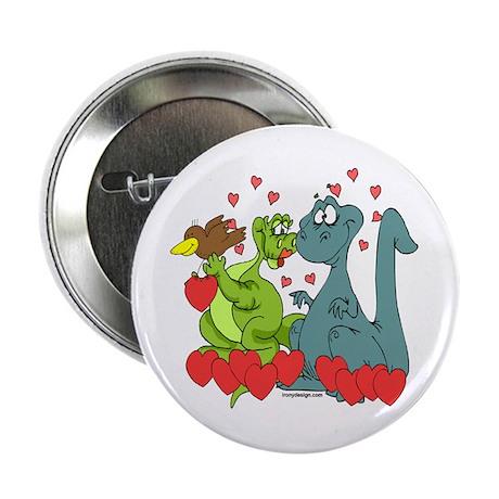 "Dinosaur Love 2.25"" Button"