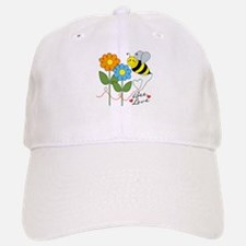 Bee Love Baseball Baseball Cap