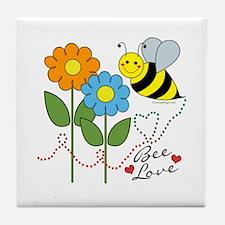 Bee Love Tile Coaster