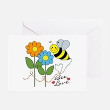 Bee Love Greeting Card
