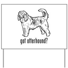 Otterhound Yard Sign