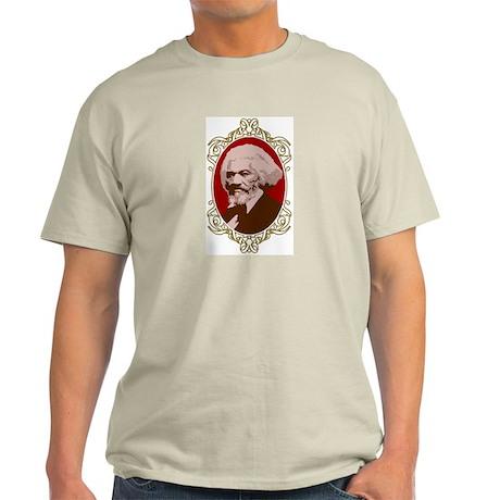 Portrait of Frederick Douglas Ash Grey T-Shirt