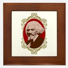 Portrait of Frederick Douglas Framed Tile