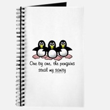 One by one, the penguins.. Journal