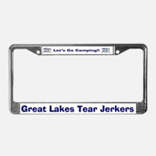 License Plate Frame - Great Lakes Tear Jerkers