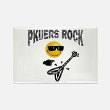 PKUERS ROCK Gifts Rectangle Magnet
