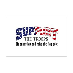 Support Our Troops Posters
