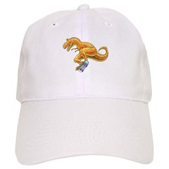 T-rex Skateboard Baseball Cap