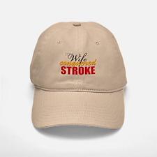 My Wife Conquered Stroke Baseball Baseball Cap