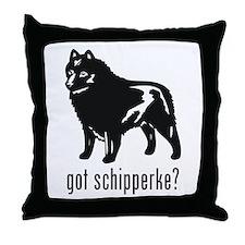 Schipperke Throw Pillow