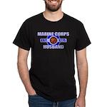 Marine Corps Husband 1775 Black T-Shirt