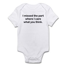 Missed Infant Bodysuit