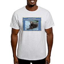Sleep with Chessies Ash Grey T-Shirt