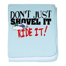 Don't Shovel It, Snowmobile baby blanket