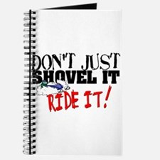 Don't Shovel It, Snowmobile Journal