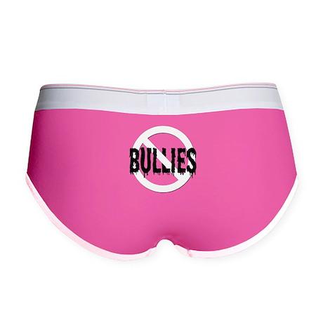 No Bullies! Women's Boy Brief