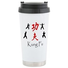 Kung Fu Survey Thermos Mug