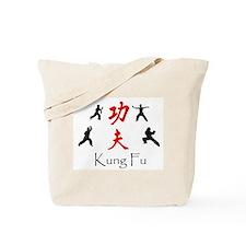 Kung Fu Survey Tote Bag