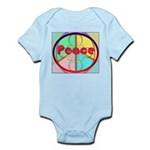 Abstract Peace Sign Infant Bodysuit