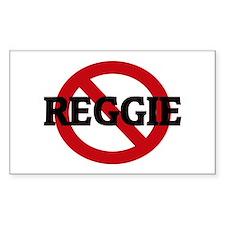 Anti-Reggie Rectangle Decal
