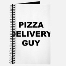 Pizza Delivery Guy Journal