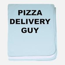Pizza Delivery Guy Infant Blanket