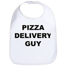 Pizza Delivery Guy Bib