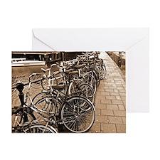 Bike Parking -- Amsterdam in Greeting Card