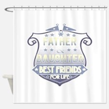 Cute First fathers day Shower Curtain