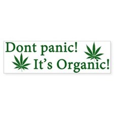 Dont Panic! Bumper Sticker