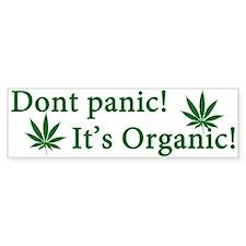 Dont Panic! Car Sticker