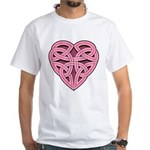Bijii Heartknot White T-Shirt