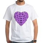 Hesta Heartknot White T-Shirt