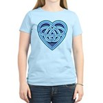 Adanvdo Heartknot Women's Light T-Shirt