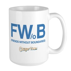 Friends Without Boundaries Large Mug